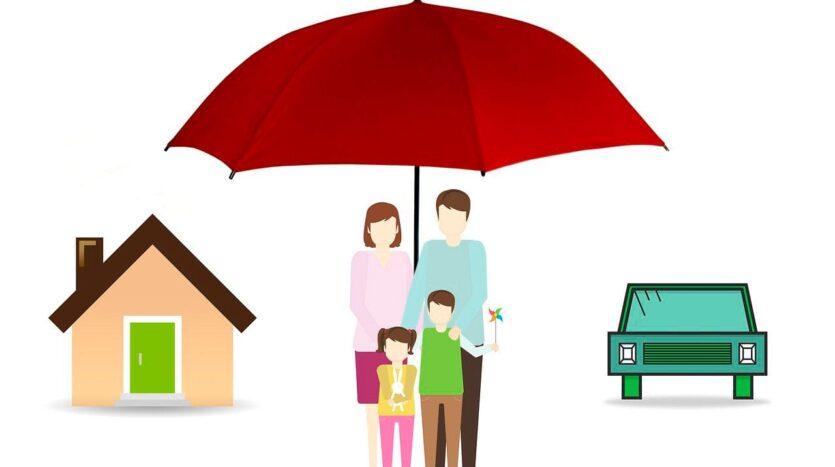 La vivienda de esta familia está asegurada.