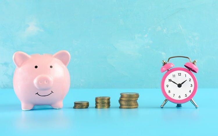 Ahorro para financiar una vivienda.